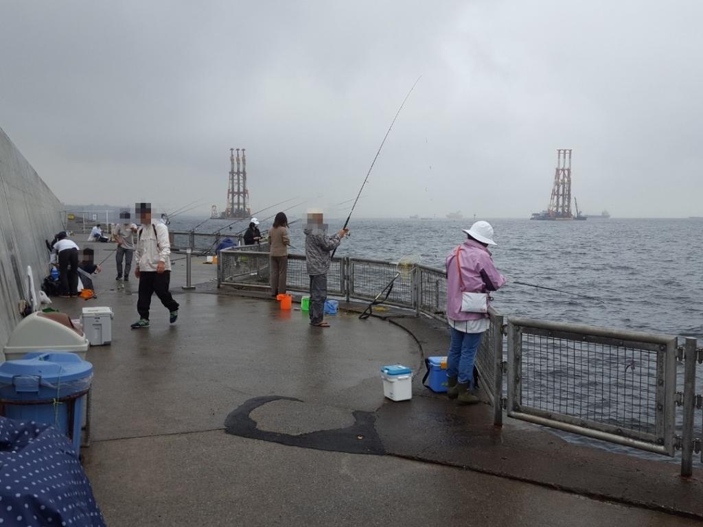 久しぶりの本牧海釣り施設でタコ釣りに挑戦!