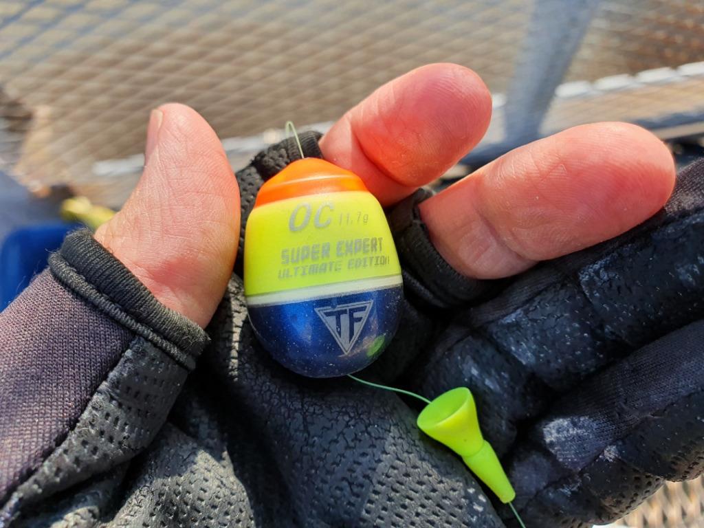 爆風の中でフカセ釣り&泳がせ釣り:やっと見つけたポイントとは?!