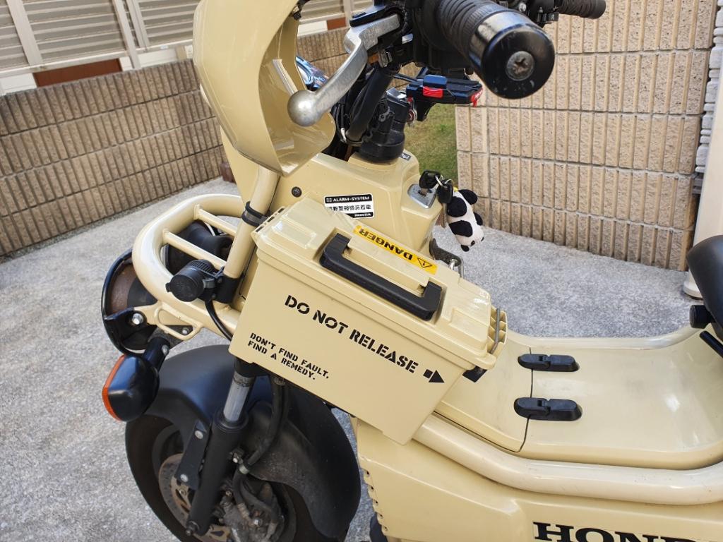 HONDA PS250カスタム:サイドボックスの取り付け方法を紹介